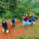 The Water Project: Hobunaka Primary School -  Carrying Water