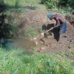 The Water Project: Mukoko Community, Mukoko Spring -  Excavation