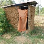 The Water Project: Eshiasuli Community, Eshiasuli Spring -  Mud Latrine