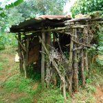 The Water Project: Kapsambo Community, Muhingi Spring -  Latrine