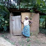 The Water Project: Hirumbi Community, Khalembi Spring -  Latrines