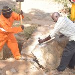 The Water Project: Munyuni Community -  Harvesting Stones