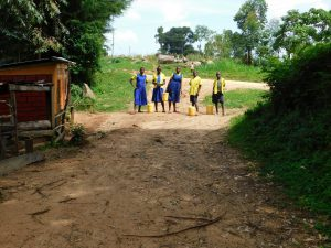 The Water Project:  Students With Jerrycans