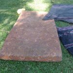 The Water Project: Bungaya Community, Charles Khainga Spring -  Bedding Drying On The Ground