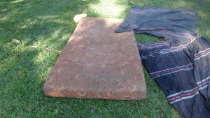The Water Project:  Bedding Drying On The Ground