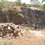 The Water Project: Munyuni Community -  Sand Dam Construction