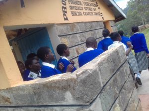 The Water Project:  Crowds At Latrines