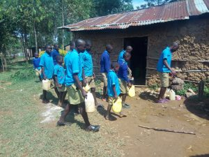 The Water Project:  Delivering Some Water To School Kitchen