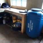 The Water Project: Womulalu Special School -  Water Storage In Kitchen