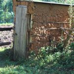 The Water Project: Bukhakunga Community, Mukomari Spring -  Mud Latrine