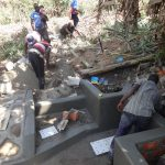 The Water Project: Bukhakunga Community, Ngovilo Spring -  Spring Construction