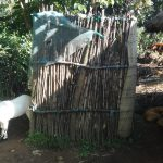 The Water Project: Bungaya Community, Charles Khainga Spring -  Latrine