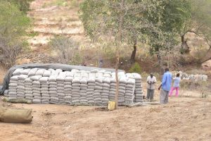 The Water Project:  Cement We Delivered
