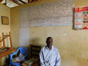 The Water Project:  Headteacher Joseph Kwendo
