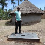 The Water Project: Bukhakunga Community, Ngovilo Spring -  Finished Sanitaiton Platform