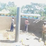 The Water Project: Mabanga Primary School -  Tank Construction