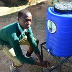 The Water Project: Eshikufu Primary School -  Handwashing Station