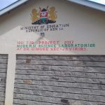 The Water Project: Dr. Gimose Secondary School -  Science Laboratory