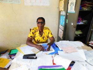 The Water Project:  Deputy Headteacher Rael Mutola