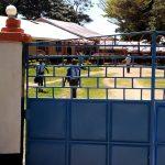 The Water Project: Banja Secondary School -  School Gate