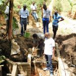 The Water Project: Bukhakunga Community, Khayati Spring -  Spring Protection