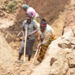The Water Project: Munyuni Community -  Sand Dam Trenching