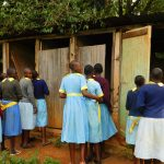 The Water Project: Hobunaka Primary School -  Latrines