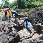 The Water Project: Mukoko Community, Mukoko Spring -  Spring Construction