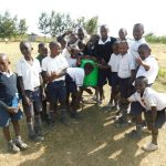 The Water Project: Shikusa Primary School -  Handwashing Station