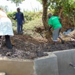 The Water Project: Mukoko Community, Mukoko Spring -  Backfilling