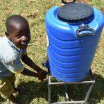 The Water Project: Mabanga Primary School -  Handwashing Station