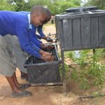 The Water Project: Kitandi Primary School -  Handwashing Station