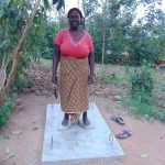 The Water Project: Mukoko Community, Mukoko Spring -  Sanitation Platform