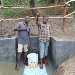The Water Project: Mukoko Community, Mukoko Spring -  Water Flowing