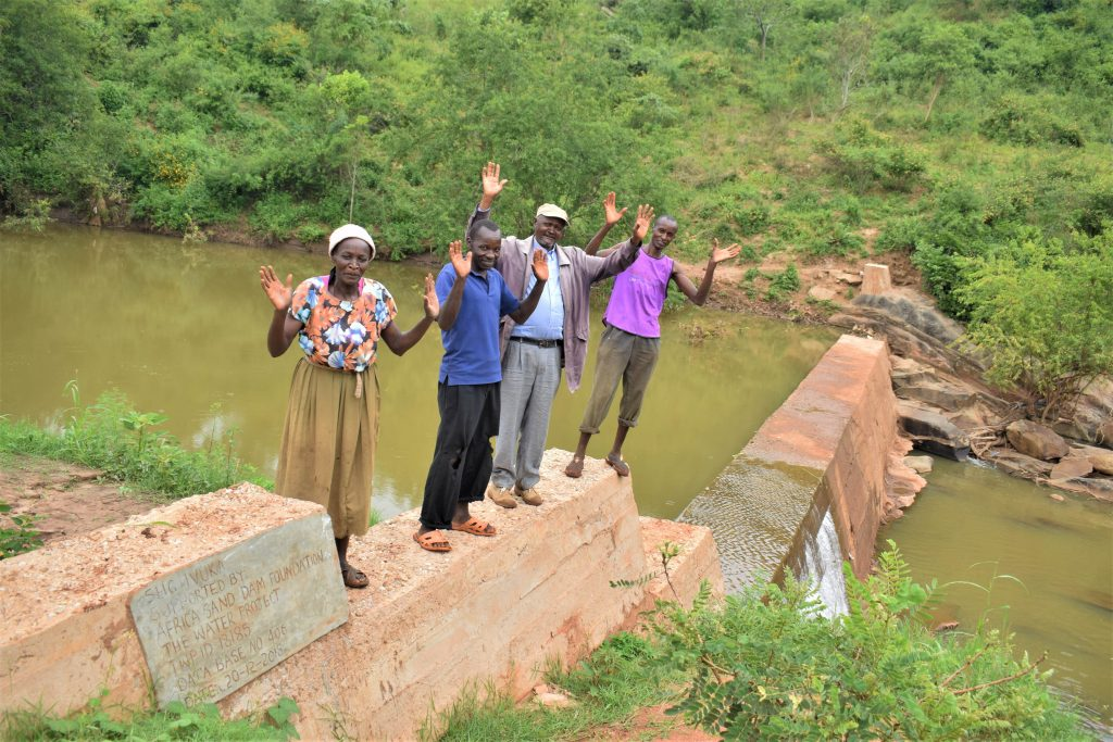 The Water Project : 3-kenya18185-finished-sand-dam
