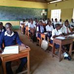 The Water Project: Bululwe Secondary School -  In Class