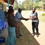 The Water Project: Mabanga Primary School -  Handing The Project Over To Headteacher And Board