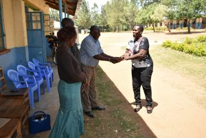 The Water Project:  Handing The Project Over To Headteacher And Board