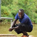 The Water Project: Kyetonye Community A -  Flowing Water