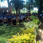 The Water Project: Enyapora Primary School -  Class Being Held Outside