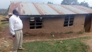 The Water Project:  Headteacher Jonathan Mise