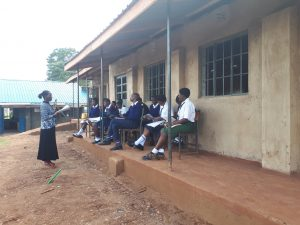 The Water Project:  Students Learning Outside