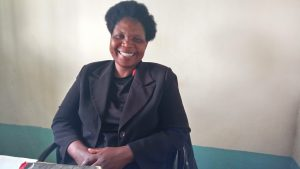 The Water Project:  Deputy Principal Maboko