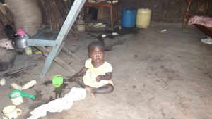 The Water Project:  Child Playing Inside