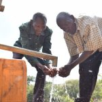 The Water Project: Kithuluni Community C -  Water Flowing