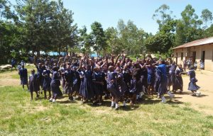 The Water Project:  Students Celebrating News Of A Project