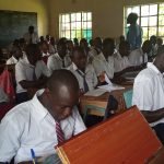 The Water Project: Ematiha Secondary School -  Students In Class