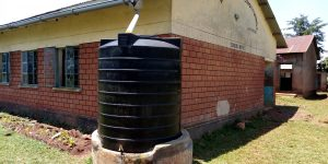 The Water Project:  Small Plastic Tank