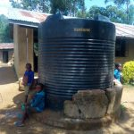 The Water Project: Shichinji Primary School -  Plastic Tank The School Recently Bought