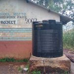 The Water Project: St. Joseph's Lusumu Primary School -  Plastic Tank